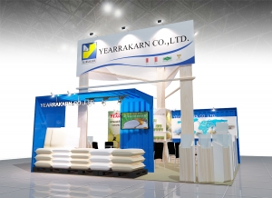 Booth Yearrakarn @ Thaifex 2016